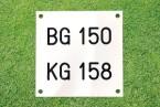 639F グレーチング用ヤードマーク 2グリーン用