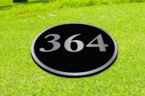 637-AA フュージョンキャストアルミ製埋込式ラウンド型 ヤードマーク <br>637-AB フュージョンキャストアルミ製埋込式ラウンド型 ヤードマークマーク入 <br>637-AC フュージョンキャストブロンズ製埋込式ラウンド型 ヤードマーク<br> 637-AD フュージョンキャストブロンズ製埋込式ラウンド型 ヤードマークマーク入